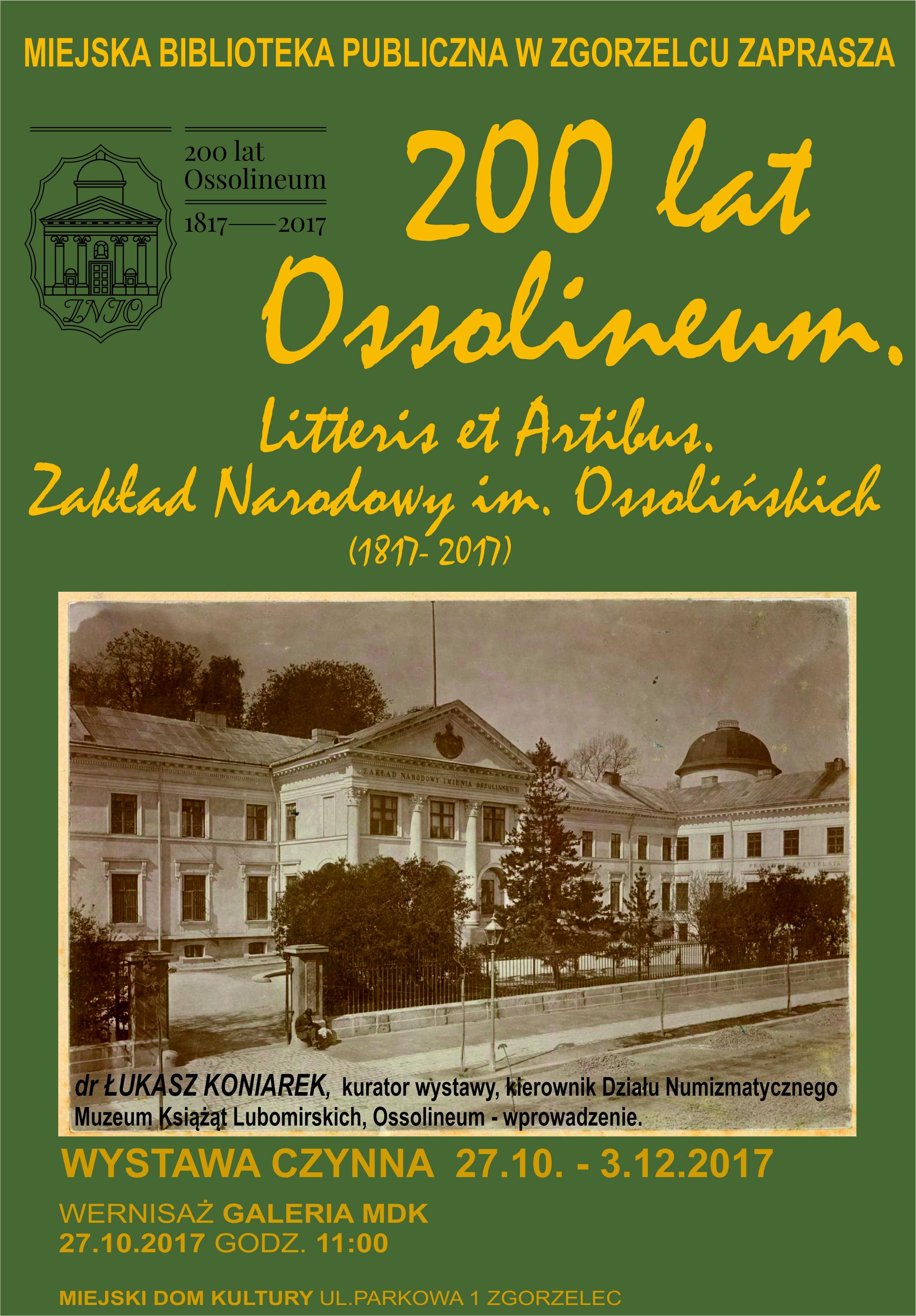 200 lat Ossolineum (2)